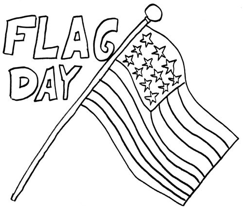 Best Happy Flag Day Coloring Pages For Kids Printable