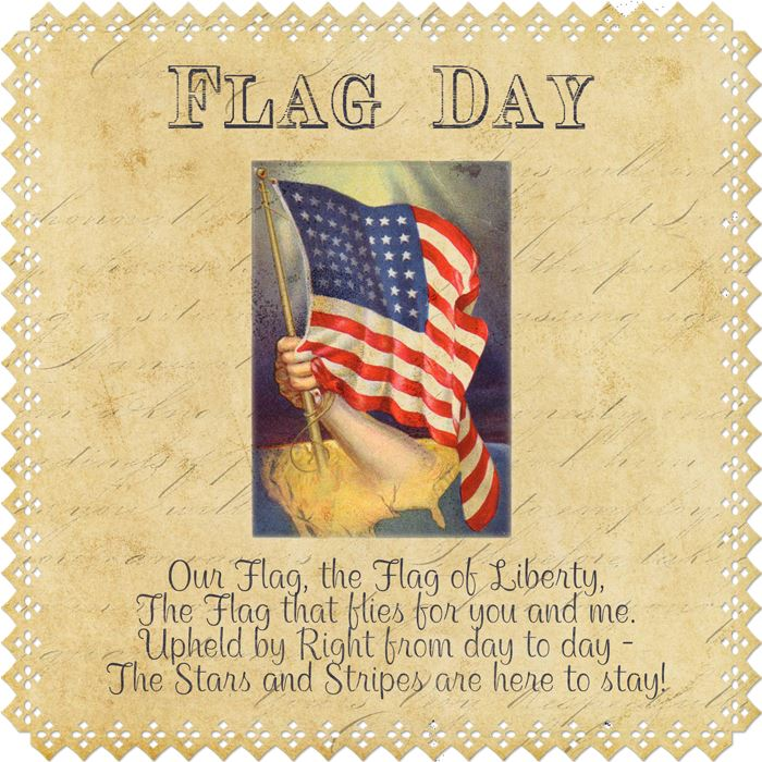 Vintage Happy Flag Day Images Free