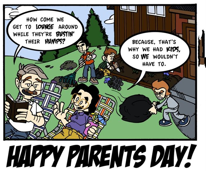 Funny Happy Parents Day Pictures