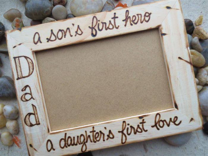 Unique Happy Father's Day Picture Frames To Make