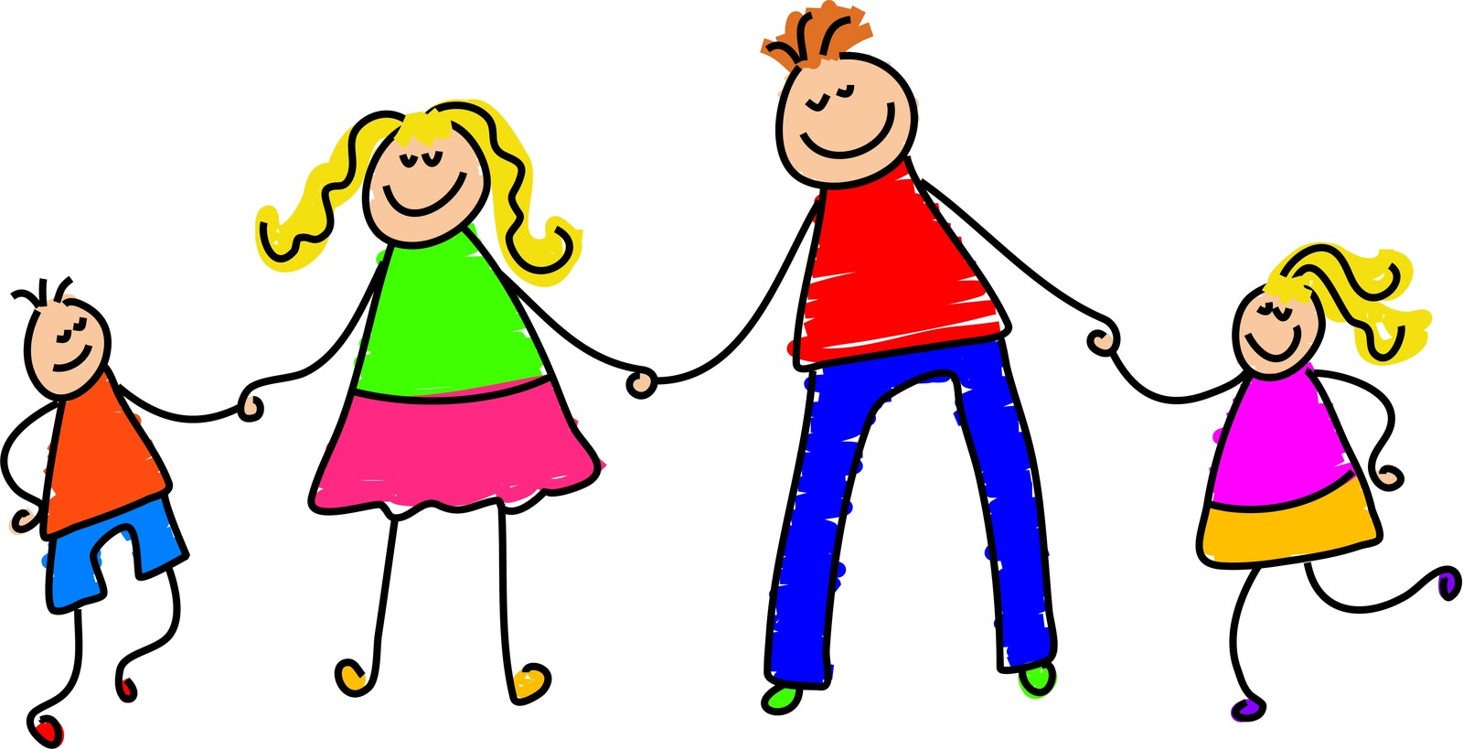 Meaningful Children And Parents Clip Art