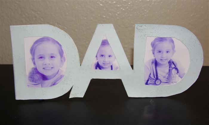 Unique Happy Father's Day Picture Frames For Kids