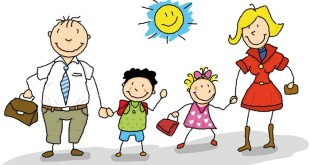 Unique Happy Parents Day Cartoons Clip Art