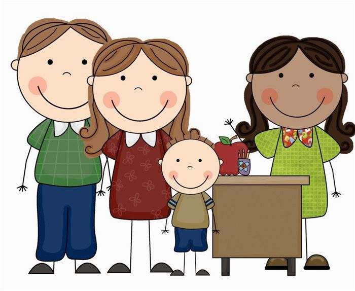 Beautiful Free Happy Parents Day Cartoons Clip Art