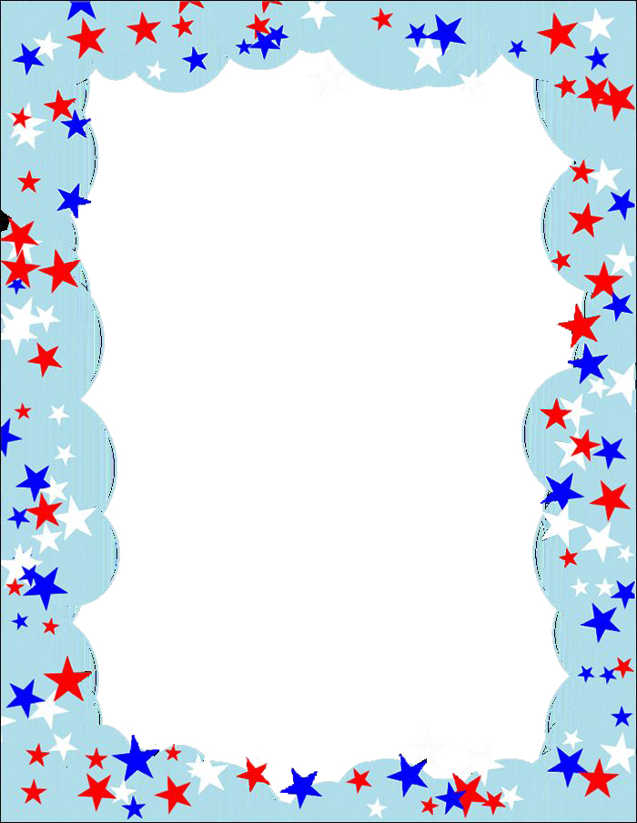 Beautiful Independence Day Clip Art Borders