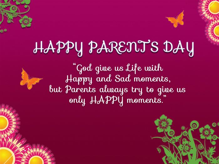 Unique Happy Parents Day Images For Facebook Cover