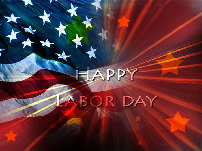 Beautiful Free Happy Labor Day Banner Clip Art