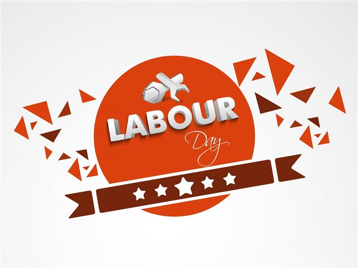 Best Unique Happy Labor Day Banner Clip Art