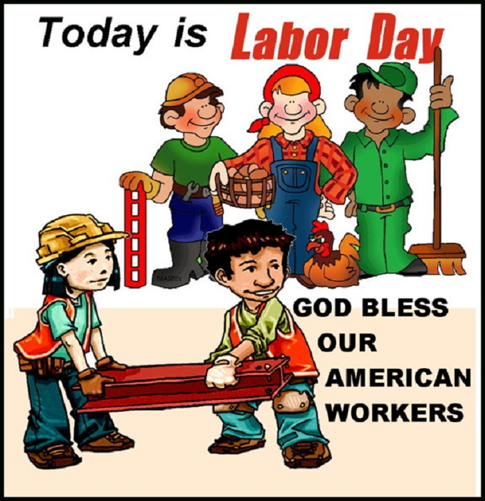 Best Christian Happy Labor Day Clipart