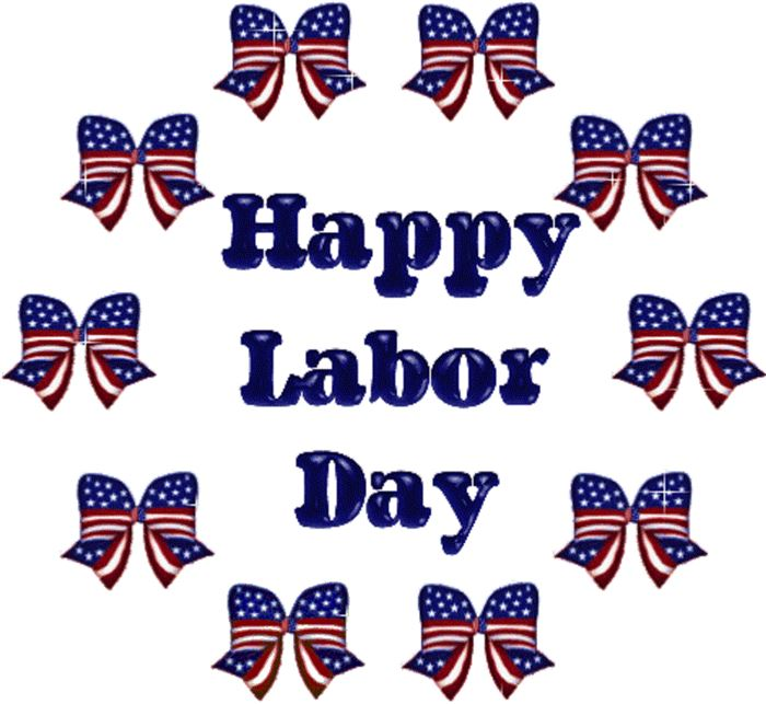 Beautiful Christian Happy Labor Day Clipart