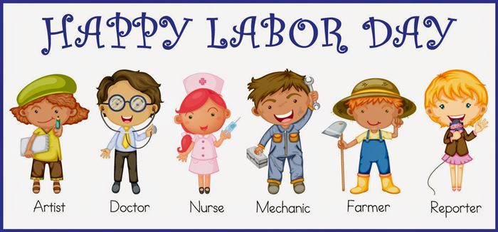 Free Beautiful Happy Labor Day Banner Graphics