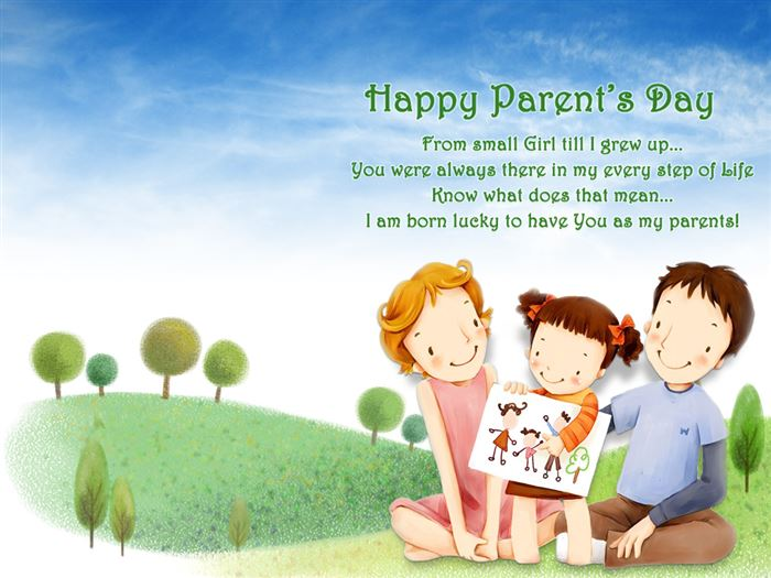Beautiful Happy Parents Day Images For Facebook Timeline