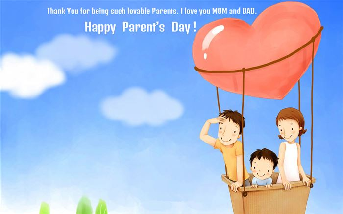 Beautiufl Happy Parents Day Photos For Facebook Cover