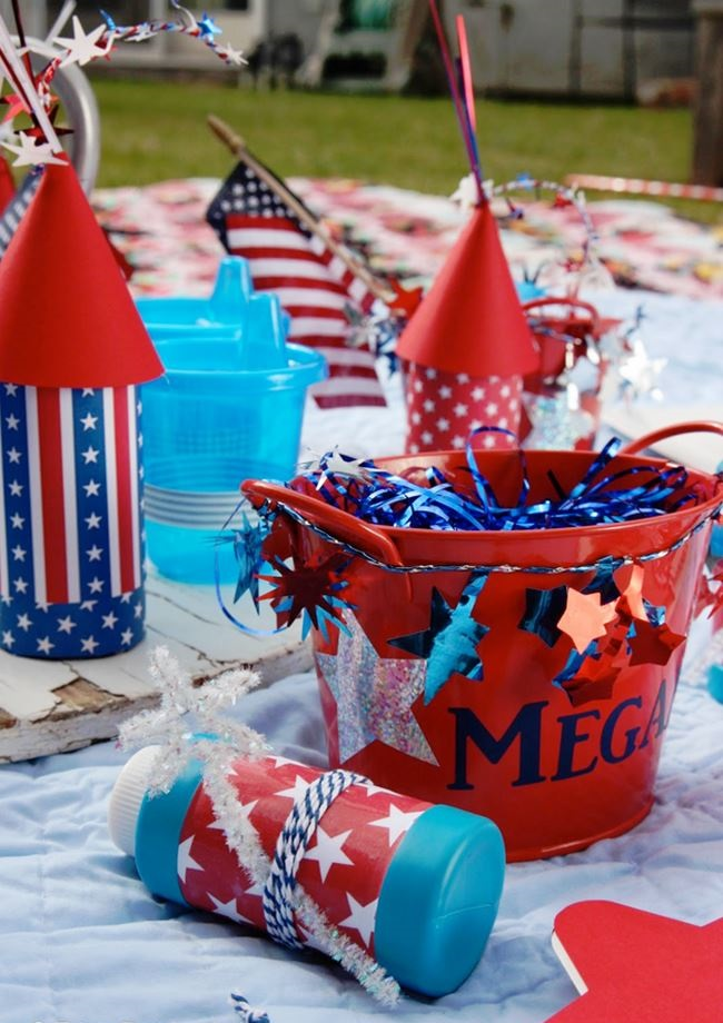 Beautiful Labor Day Picnic Decorating Ideas