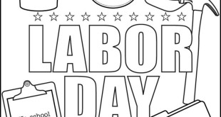 Free Happy Labor Day Clip Art Black And White