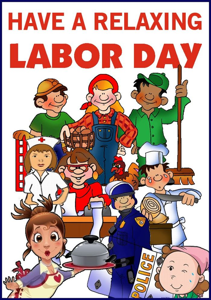 Free Beautiful Labor Day Clip Art Online