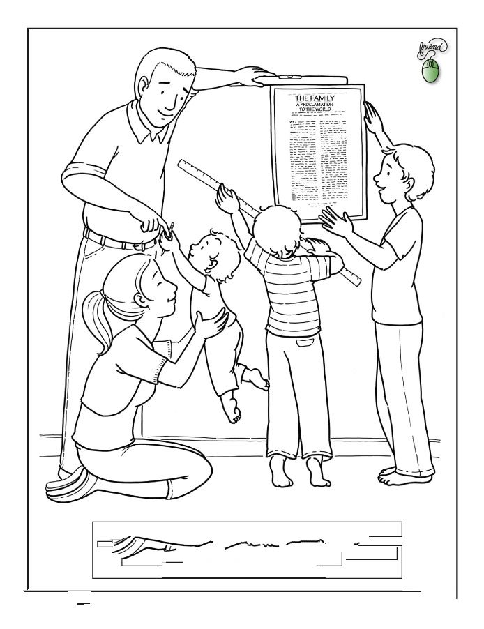 Printable Happy Parents Day Pictures To Color