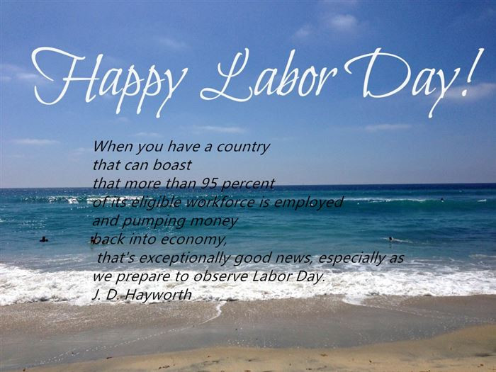 Beautiful Happy Labor Day Weekend Picture Quotes