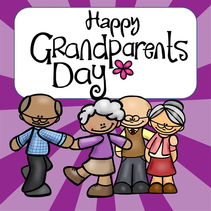 Best Free Grandparents Day Images Clip Art