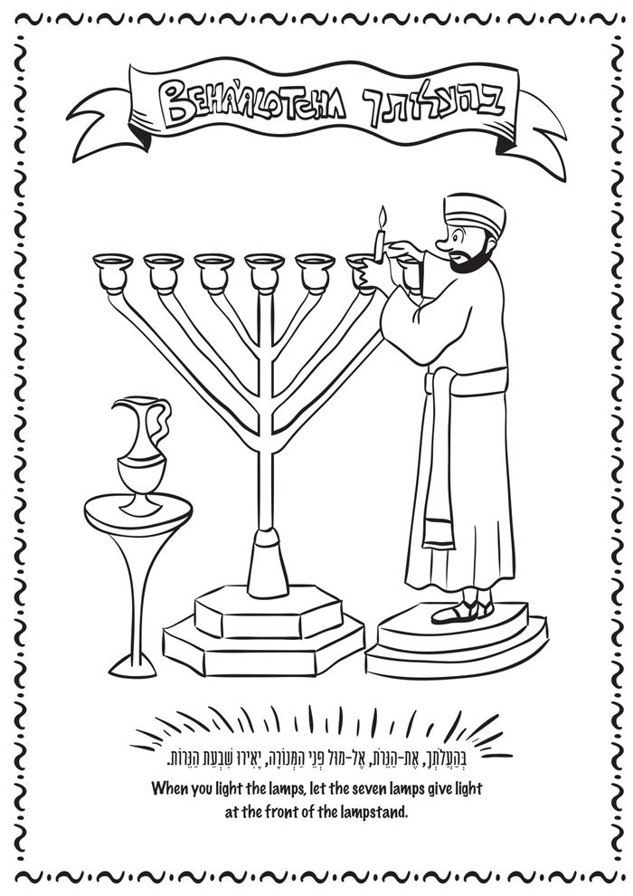 Best Free Yom Kippur Pictures To Color