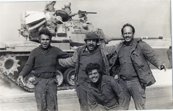 Meaningful Yom Kippur War Military Photos