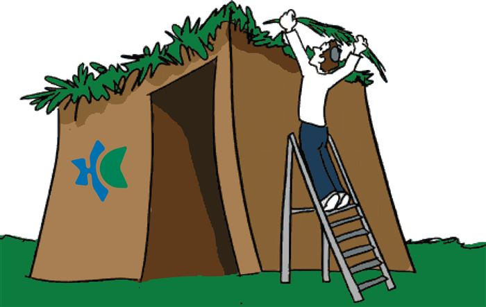Unique Sukkah Clip Art