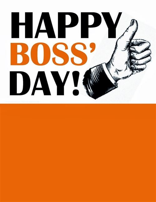 Unique National Boss's Day Clip Art Free