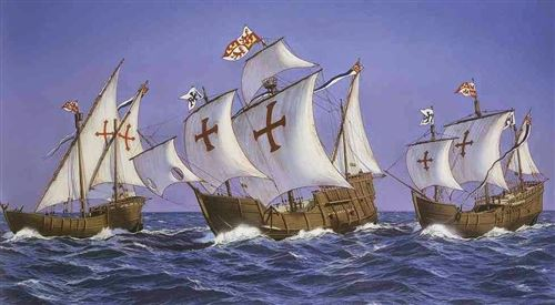 Unique Pictures Of Christopher Columbus Three Ships
