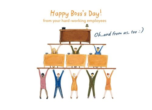 Free National Happy Boss's Day Images