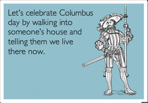 Funny Pictures Of Columbus Day