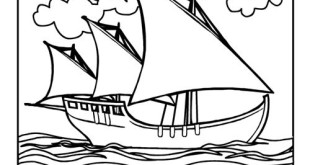 Printable Pictures Of Christopher Columbus Ships
