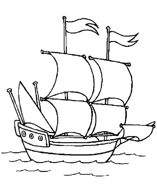 Free Printable Pictures Of Christopher Columbus Ships