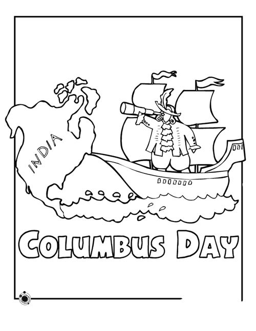 Top Columbus Day Pictures To Print