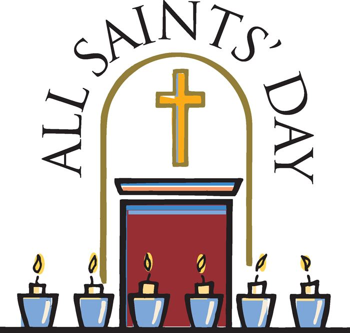 Best All Saints Day Clip Art Images Free