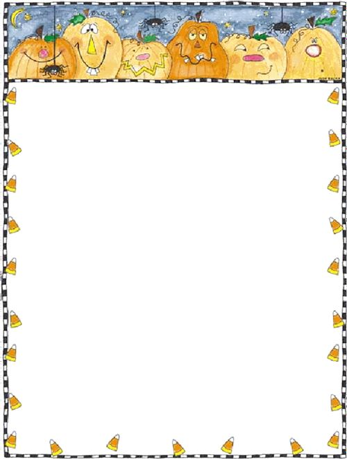 Beautiful Free Halloween Clip Art Borders