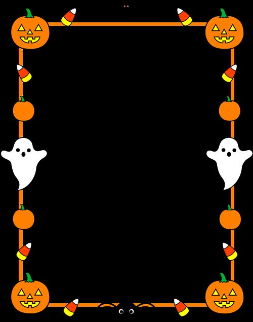 Best Free Halloween Clip Art Borders
