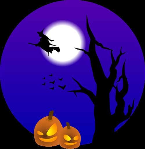 Beautiful Halloween Backgrounds Clip Art