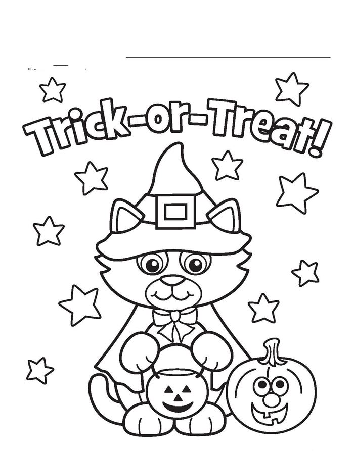 Best Halloween Images Free To Color
