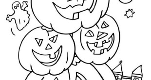 Beautiful Halloween Images Free To Color