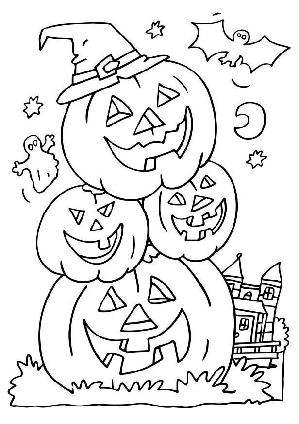 Free Unique Halloween Images To Color