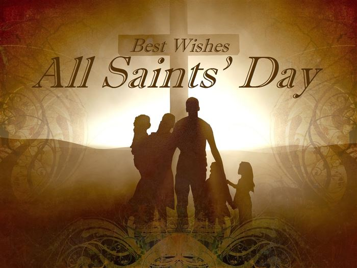 Meaningful Catholic All Saints Day Clip Art
