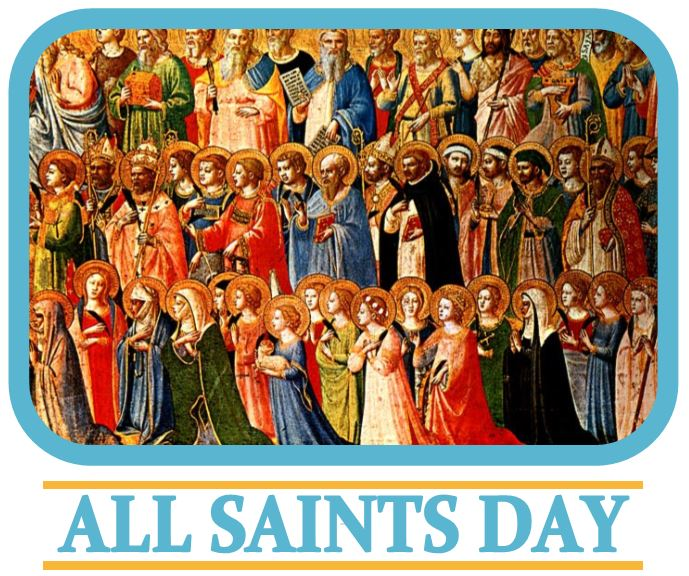 Best Free All Saints Day Graphics Design