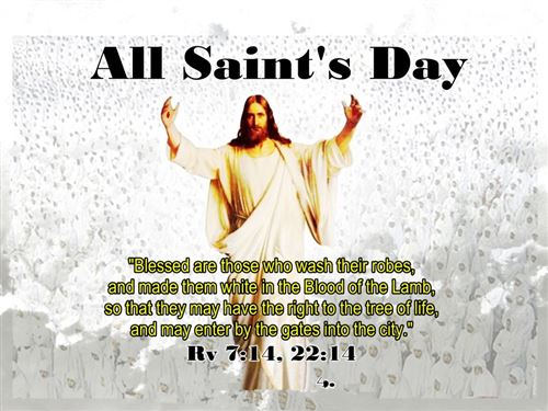 Beautiful All Saints Day Images With Quotes