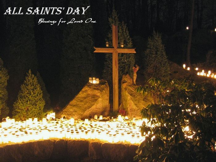 Best Free Christian Clip Art All Saints Day
