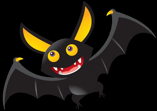 Unique Halloween Bats Clipart