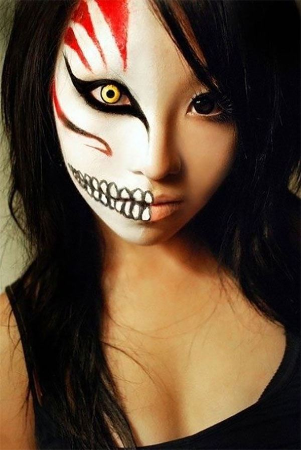 Horror Halloween Makeup Ideas Images