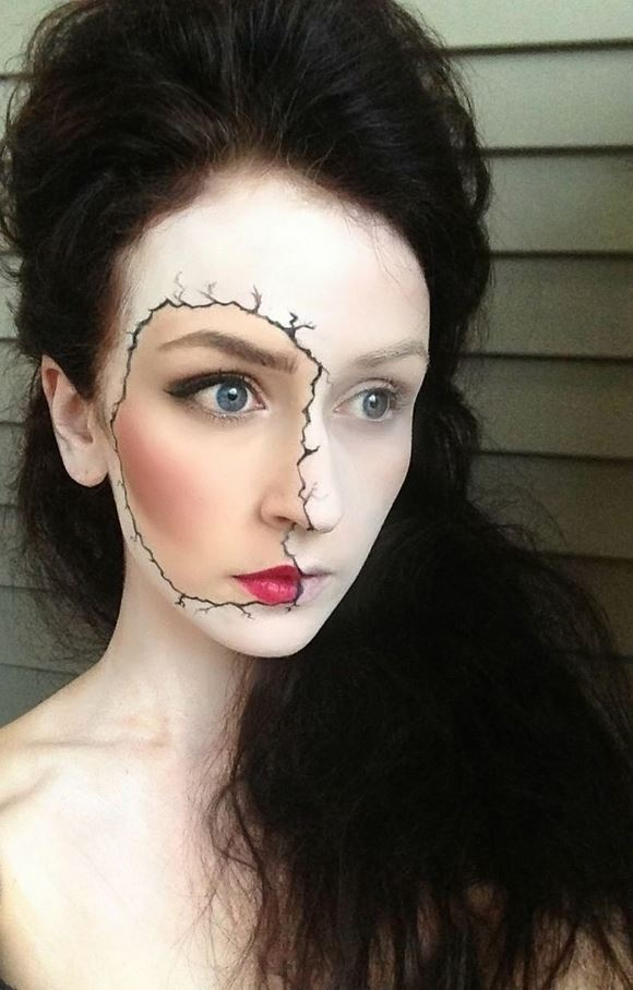 Scary Halloween Makeup Ideas Images