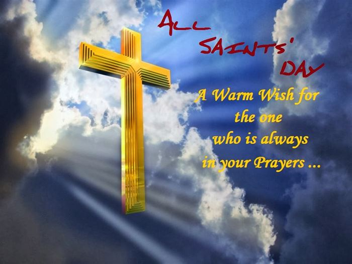 Meaningful Catholic Clip Art All Saints Day