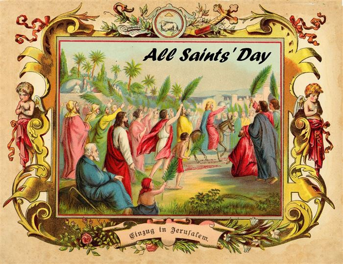 Beautiful Catholic Clip Art All Saints Day