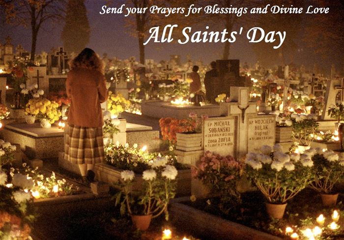 Meaningful Christian All Saints Day Clip Art